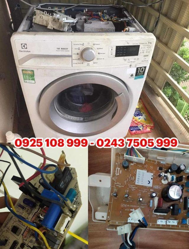 đơn vị sửa máy giặt Electrolux