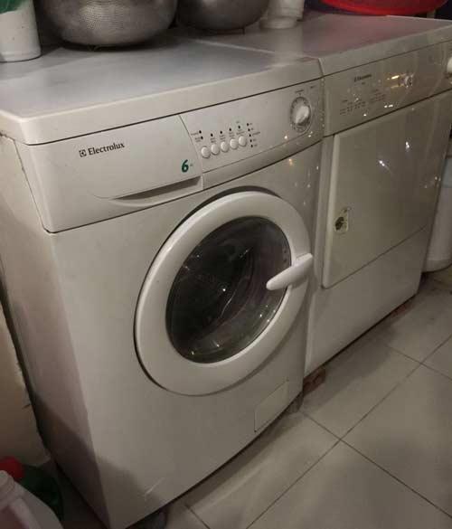 Mua bán máy giặt Electrolux cũ