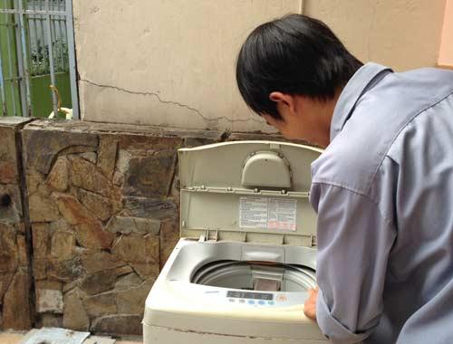 bảo hành máy giặt Electrolux tại Sơn La