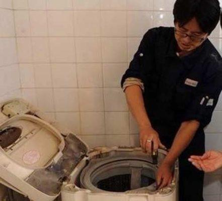 sửa máy giặt Electrolux không hoạt động