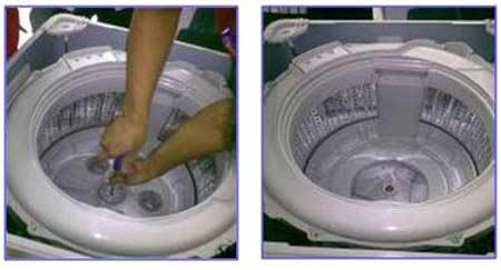 thay mâm máy giặt Electrolux