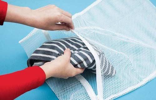 Sử dụng túi giặt với máy giặt Electrolux