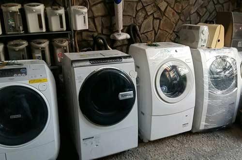 Kho máy giặt nội địa giá thợ
